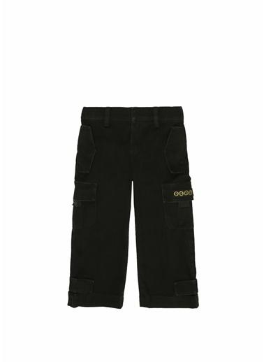 Dolce&Gabbana Dolce&Gabbana  Bant Detaylı Logolu Erkek Çocuk Pantolon 101595425 Yeşil